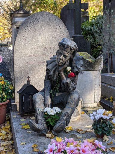 Grave of Nijinsky